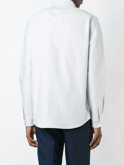 Steven Fine Stripe Shirt A.P.C.                                                                                                              синий цвет
