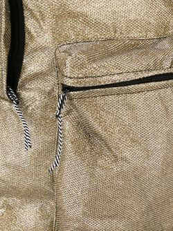 Glitter Backpack HAUS                                                                                                              серебристый цвет