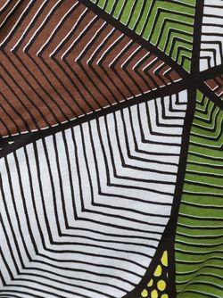 Printed Asymmetric Top JUNYA WATANABE COMME DES GARCONS                                                                                                              многоцветный цвет