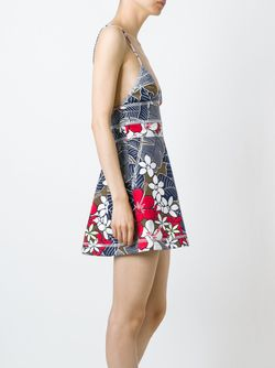 Printed Dress Dsquared2                                                                                                              многоцветный цвет