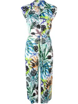 Printed Pleated Midi Dress PLEATS PLEASE BY ISSEY MIYAKE                                                                                                              многоцветный цвет
