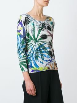 Pleated Printed Top PLEATS PLEASE BY ISSEY MIYAKE                                                                                                              None цвет