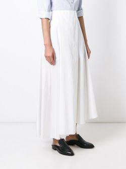 Asymmetric Hem Skirt Emporio Armani                                                                                                              белый цвет