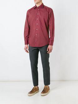 Рубашка Genova Massimo Alba                                                                                                              красный цвет