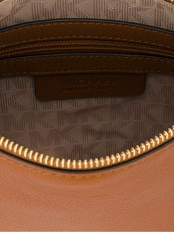 Textured Zip Up Shoulder Bag Michael Michael Kors                                                                                                              коричневый цвет
