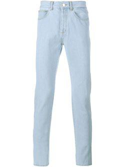 Cuban Fit Bleached Denim Jeans Givenchy                                                                                                              синий цвет