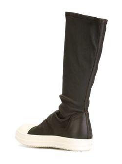 Sock Sneakers Rick Owens                                                                                                              коричневый цвет