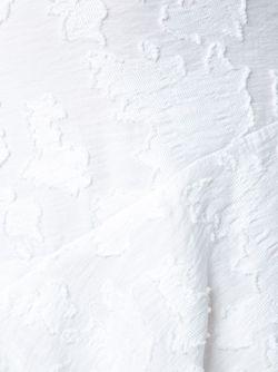 Textured Ruffle Detail Dress Derek Lam 10 Crosby                                                                                                              белый цвет