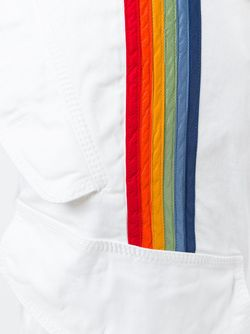 Брюки Карго С Полосатой Аппликацией Dsquared2                                                                                                              белый цвет