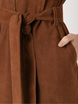Belted Dress EGREY                                                                                                              коричневый цвет