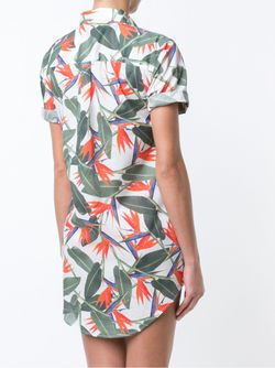 Jesse Shirt Dress Onia                                                                                                              белый цвет