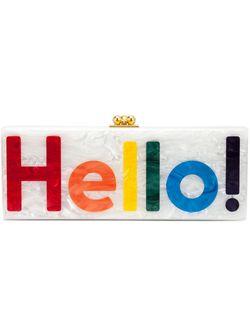 Клатч-Футляр Hello EDIE PARKER                                                                                                              белый цвет