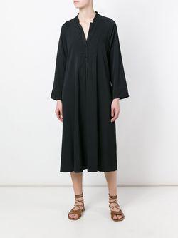 Свободное Платье-Рубашка Forte Forte                                                                                                              чёрный цвет
