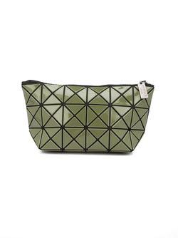 Geometric Panel Make Up Bag Issey Miyake                                                                                                              зелёный цвет