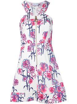 Front Zip Ginny Dress TANYA TAYLOR                                                                                                              белый цвет