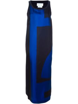 Abstract Print Maxi Dress DKNY                                                                                                              синий цвет