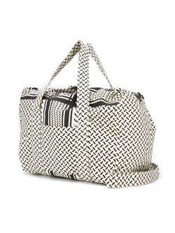 Tire Track Print Luggage Bag Lala Berlin                                                                                                              Nude & Neutrals цвет