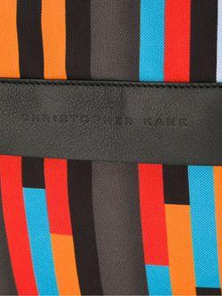 Клатч С Геометрическим Принтом Christopher Kane                                                                                                              многоцветный цвет