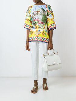Sicily Tote Dolce & Gabbana                                                                                                              белый цвет