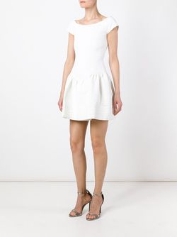 Расклешенное Платье С Короткими Рукавами Pascal Millet                                                                                                              белый цвет