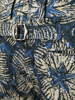 Шорты С Цветочным Принтом GABRIELE PASINI                                                                                                              синий цвет