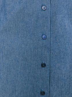 Джинсовая Юбка Jil Sander Navy                                                                                                              синий цвет