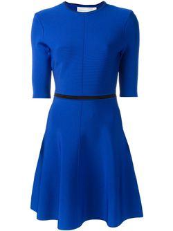 Open Back Detail Skater Dress Victoria, Victoria Beckham                                                                                                              синий цвет
