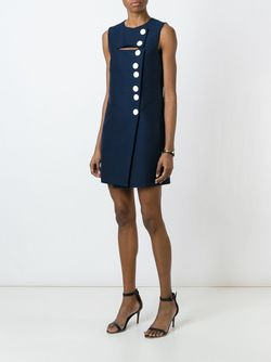 Buttoned Mini Dress Emilio Pucci                                                                                                              синий цвет
