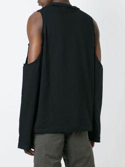 Cold Shoulder Sweatshirt Telfar                                                                                                              чёрный цвет