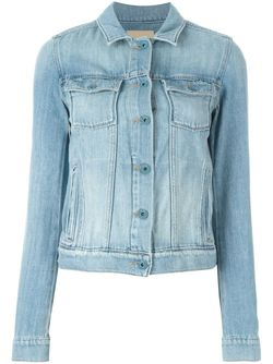 Denim Jacket Paige                                                                                                              синий цвет