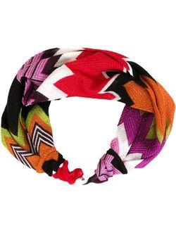 Головная Повязка С Узором-Ёлочкой Missoni                                                                                                              многоцветный цвет