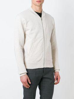 Jersey Bomber Jacket Maison Margiela                                                                                                              белый цвет