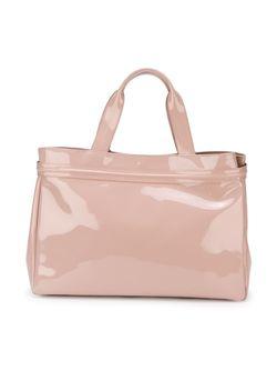 Большая Сумка-Шопер С Логотипом ARMANI JEANS                                                                                                              розовый цвет