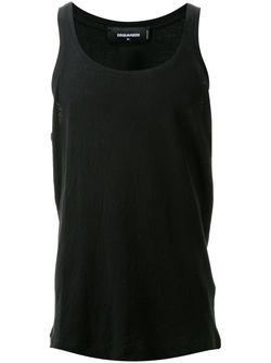 Classic Vest Dsquared2                                                                                                              чёрный цвет