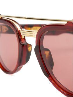Солнцезащитные Очки Cherokee Jacques Marie Mage                                                                                                              красный цвет