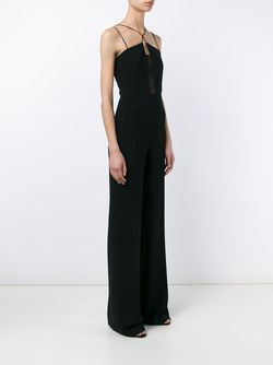 Malvern Sleeveless Jumpsuit Roland Mouret                                                                                                              черный цвет