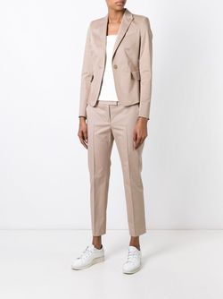 Single Button Blazer Akris Punto                                                                                                              Nude & Neutrals цвет