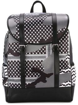 Камуфляжный Рюкзак Neil Barrett                                                                                                              многоцветный цвет