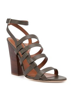 Strappy Sandals Sergio Rossi                                                                                                              зелёный цвет