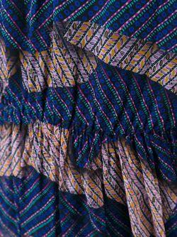 Printed Long Dress MSGM                                                                                                              синий цвет
