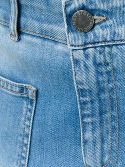 Skinny Kick Jeans Stella Mccartney                                                                                                              синий цвет
