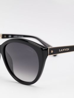 Oval Sunglasses Lanvin                                                                                                              черный цвет