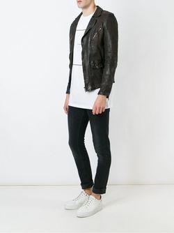 Куртка Со Смещенной Застежкой-Молнией SALVATORE SANTORO                                                                                                              коричневый цвет
