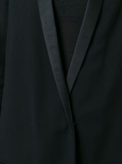 Satin Lapel Blazer Haider Ackermann                                                                                                              чёрный цвет