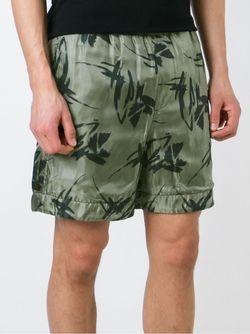 Drawstring Shorts Andrea Pompilio                                                                                                              зелёный цвет