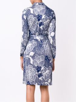 New Jeannet Dress Diane Von Furstenberg                                                                                                              синий цвет