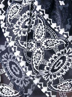 Bandana Detail Tank Top Sacai                                                                                                              черный цвет