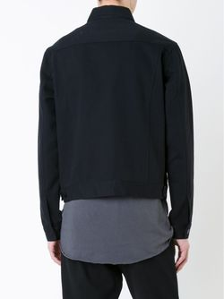 Джинсовая Куртка Bassike                                                                                                              чёрный цвет
