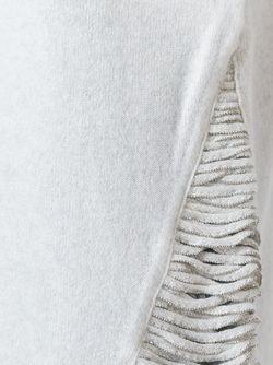 Свитер С V-Образным Вырезом Fabiana Filippi                                                                                                              Nude & Neutrals цвет