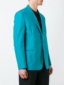 Блейзер На Одной Пуговице Paul Smith                                                                                                              синий цвет